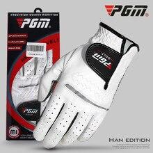1 шт. перчатки для гольфа мужские левые и правые мягкие дышащие из чистой овчины с противоскользящими гранулами перчатки для гольфа мужские
