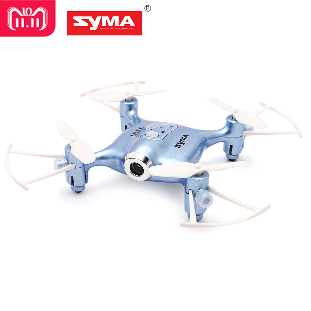SYMA X21W Mini Drone with HD Camera WIFI FPV Helicopter 2.4GHz 4CH 4Aixs Gyro Altitude Hold Mode RC Quadcopter Mini Drone syma quadcopter high tech new 2 4g altitude hd camera rc drone 0 3mp wifi fpv live helicopter hover quadcopter drone may