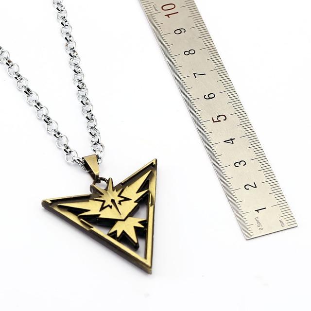 Pokemon Go Valor Mystic Instinct Necklace