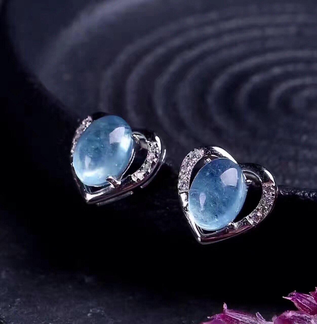 925 Brincos de Cristal de Prata - 4