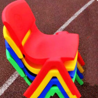 Quality New Plastic Chair For Kids Stool Home Furniture Living Room Pouf Taburete Seat Garden Supplies