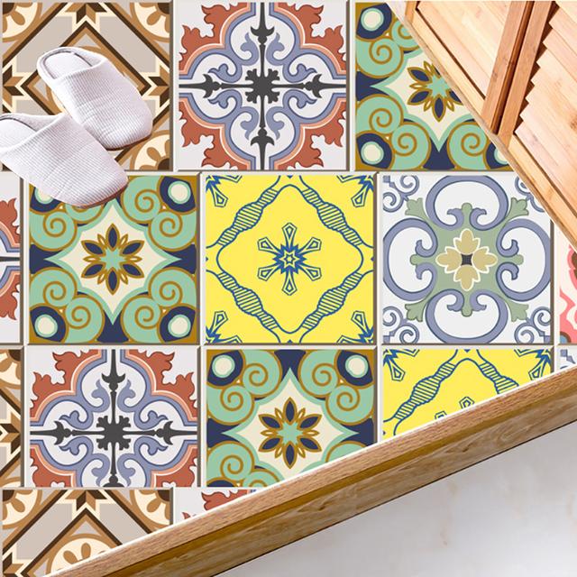 20pcs/set Waterproof Mosaic Bathroom Tile Stickers