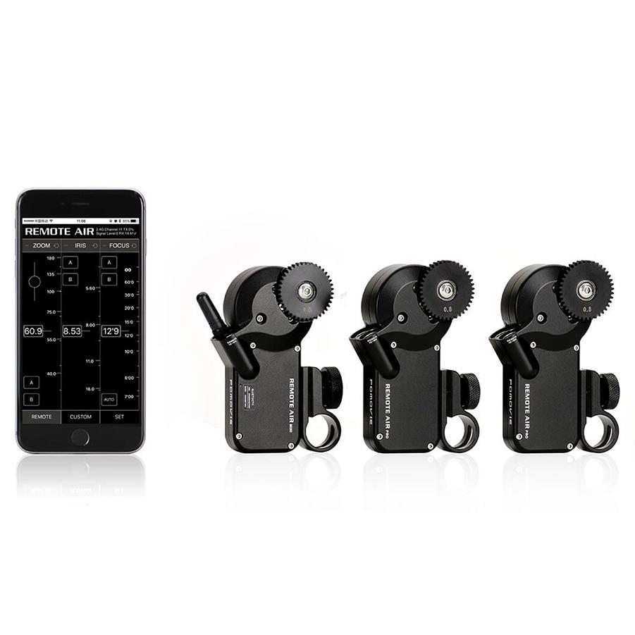 PDMOVIE Remote Air mini motorized wireless follow focus zoom focus smartphone app control for camera film lens EF carl zeiss