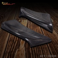 Real Carbon Fiber Front Bumper Canard Splitter Kits 2 Pcs For Toyota GT86 Wing 1071008