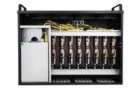8 * PCIe X16 видео карты, ETH и т. д. шахтер, горной машины, обеспечить индивидуальный дизайн услуг, компьютер для добычи Bitcoin