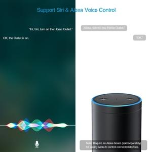 Image 5 - Koogeek Wi Fi Smart Socket for Apple HomeKit Amazon Alexa Voice Control  App control Smart Plug Timer Energy Monitoring US Plug