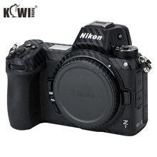 KIWIFOTOS Anti Scratch Kamera Körper Abdeckung Carbon Faser Film Kit Für Nikon Z7 Z6 3M Aufkleber Mit Ersatz film Kameras Schutz
