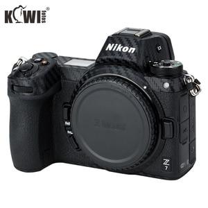 Image 1 - KIWIFOTOS נגד שריטות מצלמה גוף כיסוי סיבי פחמן סרט ערכת עבור ניקון Z7 Z6 3M מדבקה עם חילוף סרט מצלמות הגנה