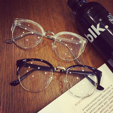 New Fashion Brand cat eye female transparent Spectacles computer eyeglasses male glasses frame for women\x27s