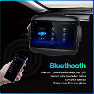 """Image 4 - Dasaita 9"""" Android 9.0 Multi Touch Screen Car Radio for Jeep Renegade GPS 2016 2017 HDMI 2.5D IPS Touch Screen TDA7850 Bluetooth"""