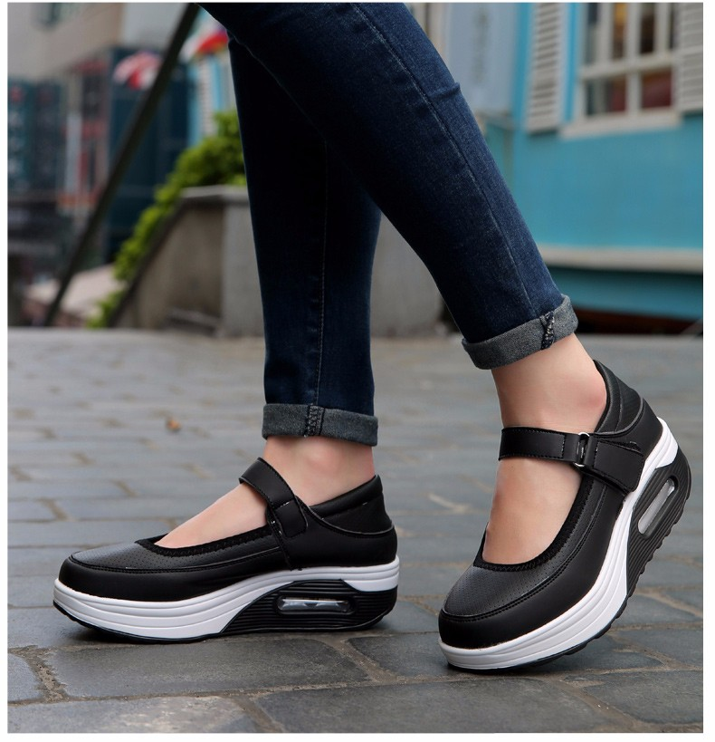 Mary Janes Style Women Casual Shoes Fashion Low Top Platform Shoes zapatillas deportivas mujer Breathable Women Trainers YD129 (21)