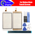 5.5 inch Bluboo Maya Digitizer Touch Screen 100% Guarantee Original Glass Panel Touch Screen Glass For Maya+tools+Adhesive
