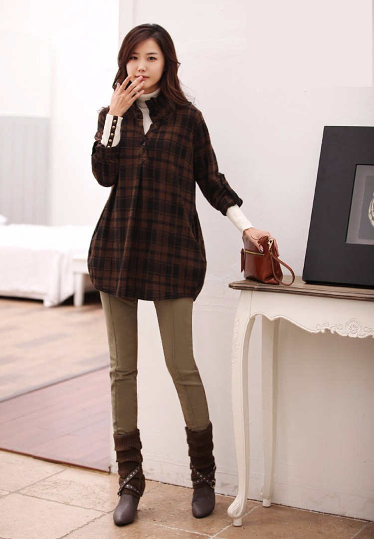 Plus Size 4XL Boot Cut Pants Winter Autumn Warm Trousers Elastic Waist Slim Casual BlackKhakiCoffe Leggings Pants 2016 A587 e