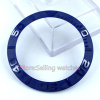 39 8mm Blue Ceramic Bezel Insert For Sub Watch Made By Parnis Factory