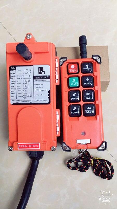 F21-E1B industrial controlador remoto grua guindaste de controle elevador guindaste 1 transmissor + 1 receptor