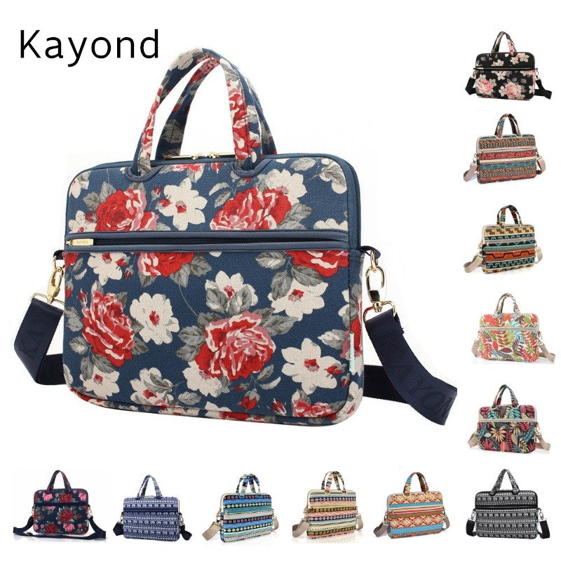 2018 Newest Kayond Brand Messenger Bag Handbag,Case For Laptop 13,14,15,15.6,For MacBook 13.3, 15.4 inch,Free Drop Shipping hot handbag for laptop 14 for macbook air pro 13 3 13 14 1 lady notebook bag women messenger purse free drop ship 0084s414