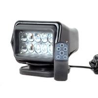 IP67 10 30V Remote Control LED Searchlight 7inch 50W Spotlight LED Work Light TRUCK SUV BOAT