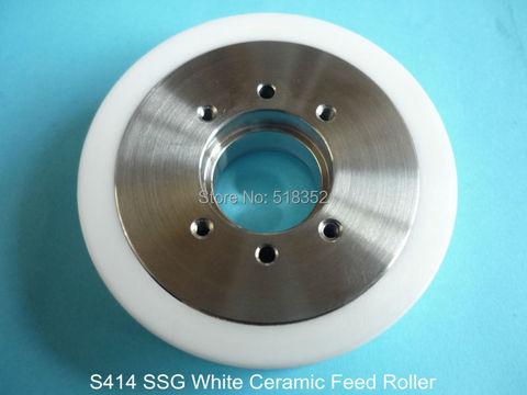 Rolo de Alimentação Máquina de Corte Peças de Desgaste c com Rolamento de Buraco Cerâmica Wedm-ls Fio 3052992 3052772 Ssg S414