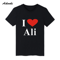 The Greatest Ali Cartoon Short Sleeve T-shirts Cotton T Shirt Men O Neck And Plus Size Funny Tee Shirts In Summer Casual XXS