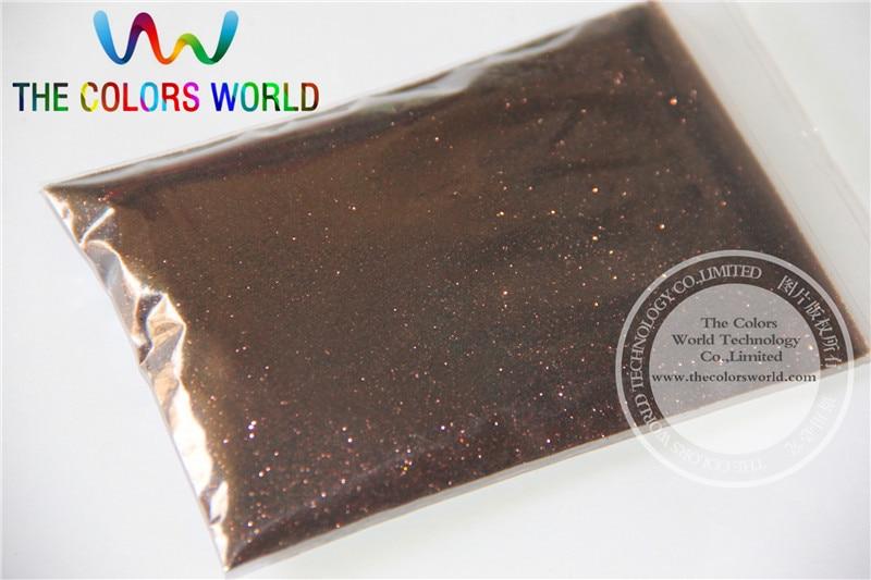 B0411 коричневый Цвет Блеск порошок-0.2 мм блеск пыли Ослепительный Блеск порошок, флэш-порошок