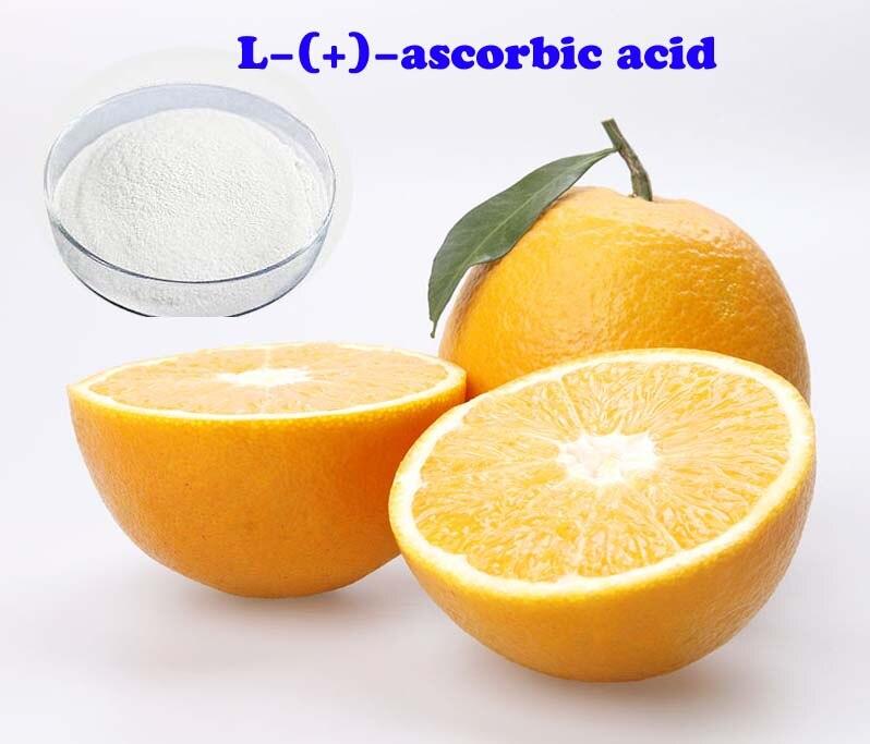 100g cosmetics grade ascorbyl glucoside L Ascorbic acid powder skin whitening powder free shipping