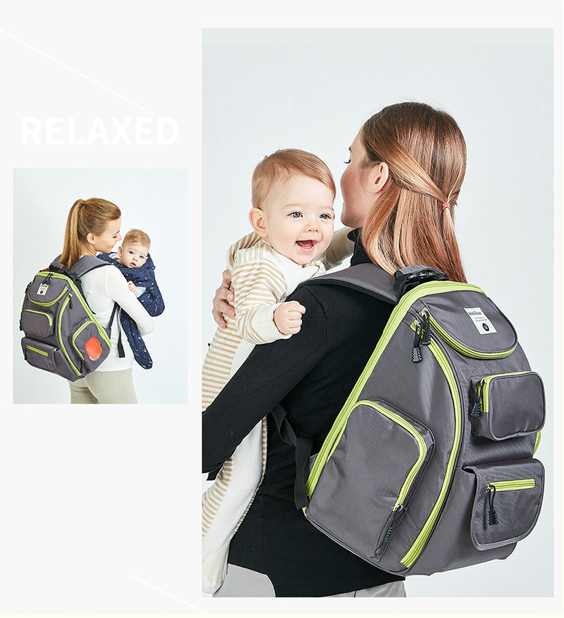 NEW Mommy Bag  Lovely Multicolored Baby Diaper Bag Large-Capacity Fashion Mother's Maternity Bag Baby Stroller Nappy Bag  10081
