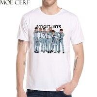 KPOP BTS Bangtan Boys T Shirt Rap Jung Hook Album Shirts Summer Casual Short Sleeve Men