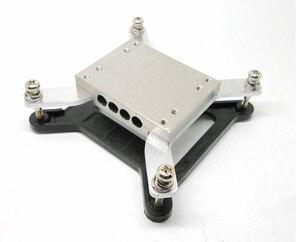 Радиатор для тепловых труб 1155 1150 200 мм, наборы «сделай сам» для сборки всех алюминиевых корпусов, бесшумный радиатор для процессора компьютера, бесплатная доставка