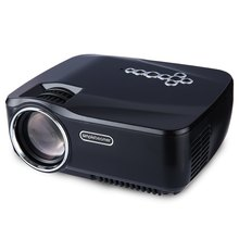 GP70UP Full HD 1200 Lúmenes Mini Proyector LCD de Cine En Casa Bluetooth Airplay EZCast Multi-idioma 800×480 Portátil proyector