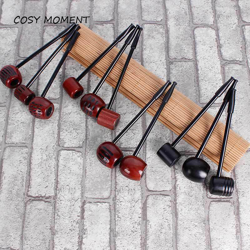 COSY MOMENT Mini Wood Smoking Pipe Popeye Straight Ebony /Rosewood Wooden Smoking Pipes For Tobacco Mens Gift SM040