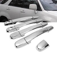 Exterior Chrome Door Handle Cover For 98 03 Lexus RX300 / 98 03 Toyota Harrier / 01 05 Lexus IS300 / 98 05 Lexus IS200