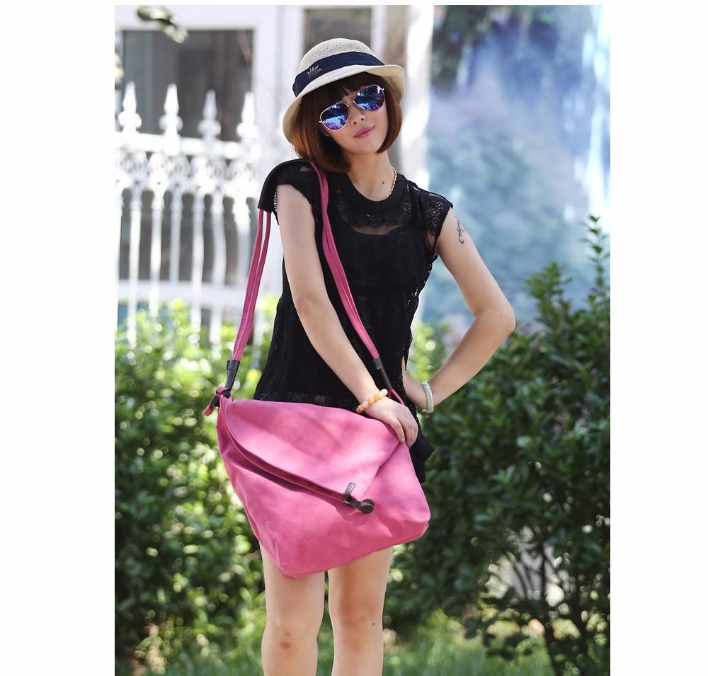 Vintage Canvas Shoulder Bag European And American Style Casual Unisex Handbag Men Women Retro Large Capacity Messenger Bags TTOU (5)