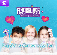 Authorized Original Fingerlings Smart Interactive Finger Monkey False One Compensate Ten Support Counters Inspection