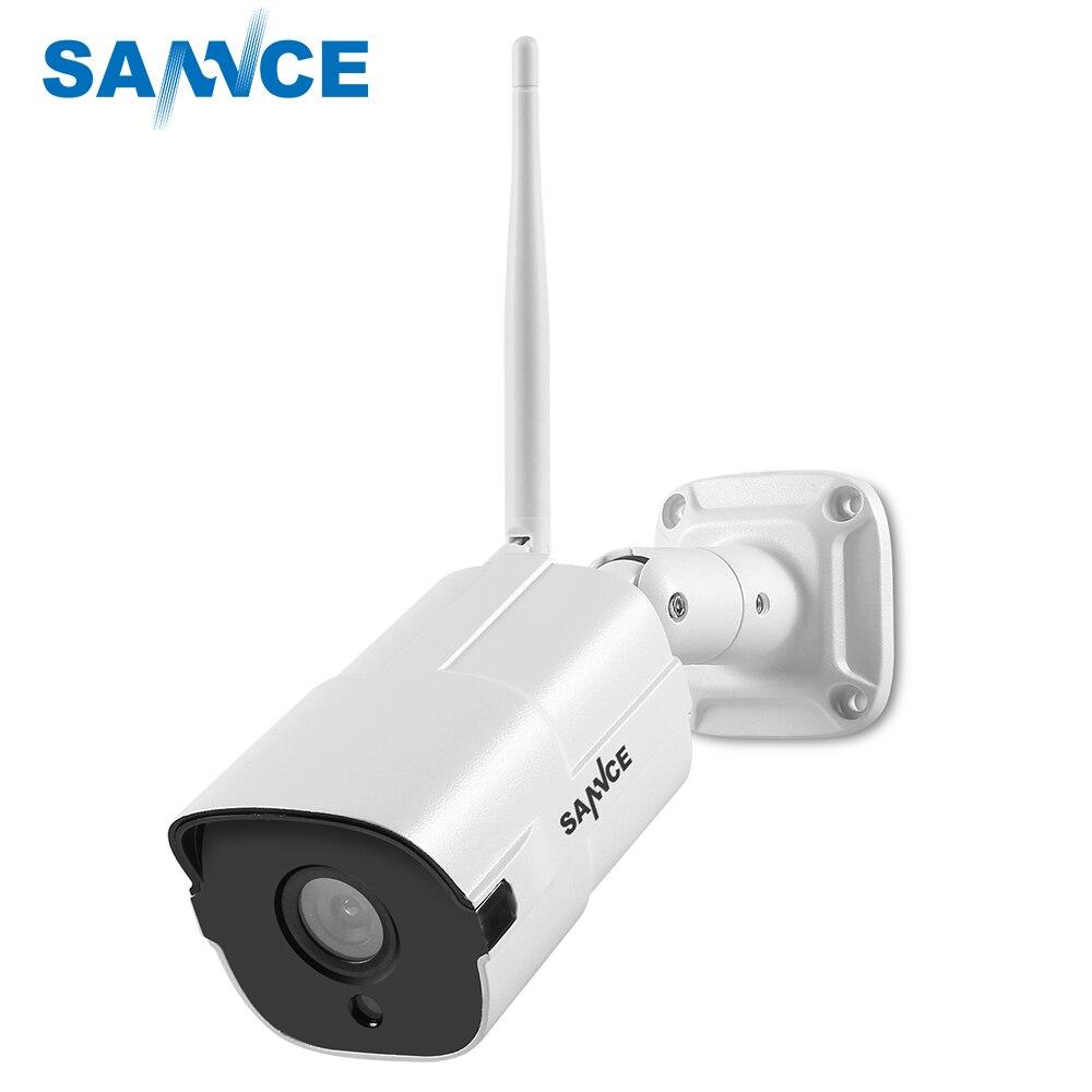 SANNCE Étanche 1080 p IP Caméra HD WiFi Sans Fil Surveillance Bullet Camara Extérieure IR Cut Night Vision Sécurité À La Maison Camara