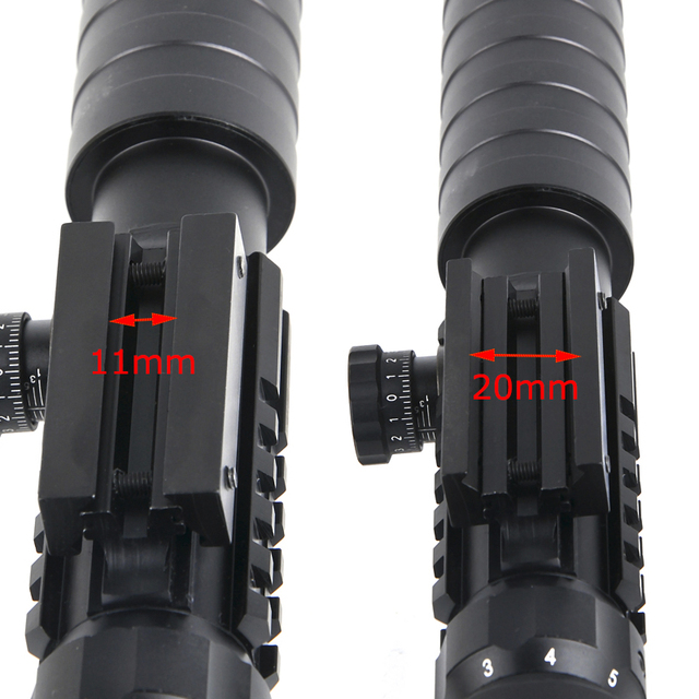 3-9x32EG Tactical Rifle scope Red&Green Dot Illuminated Reticle Optic Sight Airsoft Hunting Scopes with Free Lens Cover