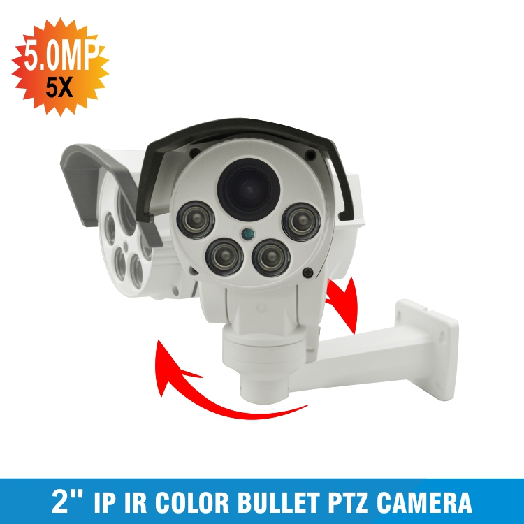 HI3516C + SONY IMX323 Беспроводной HD 1080 P пуля Wi Fi PTZ IP Камера 5MP 5X зум Автофокус 2MP 10X оптический зум Открытый ИК Onvif