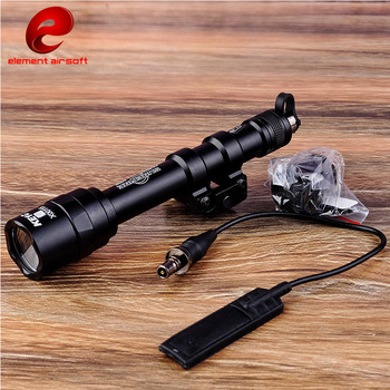 цена на Element SF M600AA Mini Scout Light Led Tactical Flashlight Nerf EX400 BK Accessories
