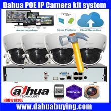 Dahua 4CH CCTV Security System 4CH 1080P NVR4104H 4P 3MP outdoor Camera Video Surveillance System 4pcs