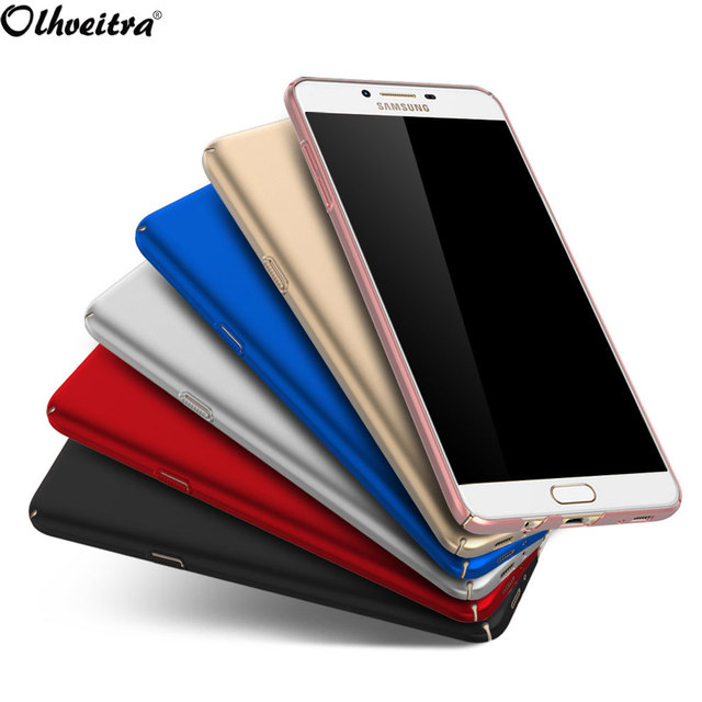 new style 9f53e d3ff9 US $3.19 |Original mobile Phone Cover For Samsung Galaxy C9 Pro case Hard  PC Back Cover 360 Full Protect cases for Samsung C9 Pro C9000-in Fitted ...