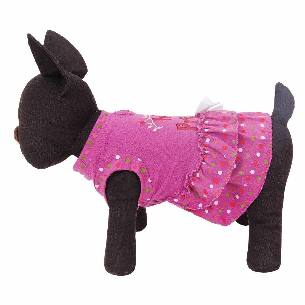 ✅Freeshipping verano lindo perro púrpura ropa para mascotas ...
