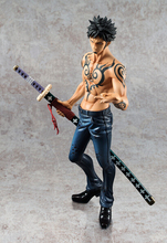24CM Trafalgar Law One Piece Action Figures Anime PVC brinquedos Collection Figures toys AnnO00508A