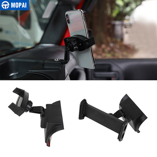 MOPAI ABS Car Navigation GPS Bracket Mount IPad/Mobile Phone Holder for Jeep Wrangler 2011 2017 Car Accessories Styling