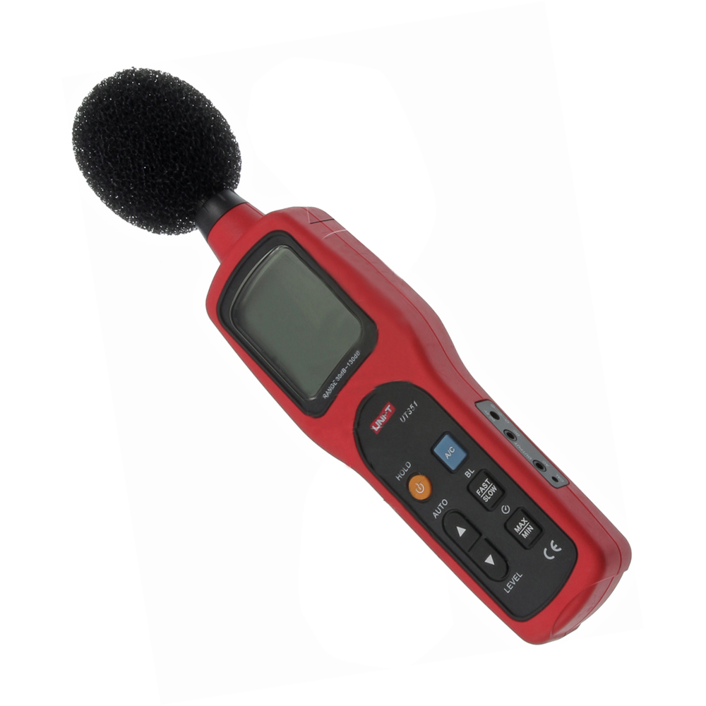 JFBL Hot 1 set red-black UT351 high-precision noise decibel detector sound level 27.3*7*4CM kaish black p90 high power sound neck