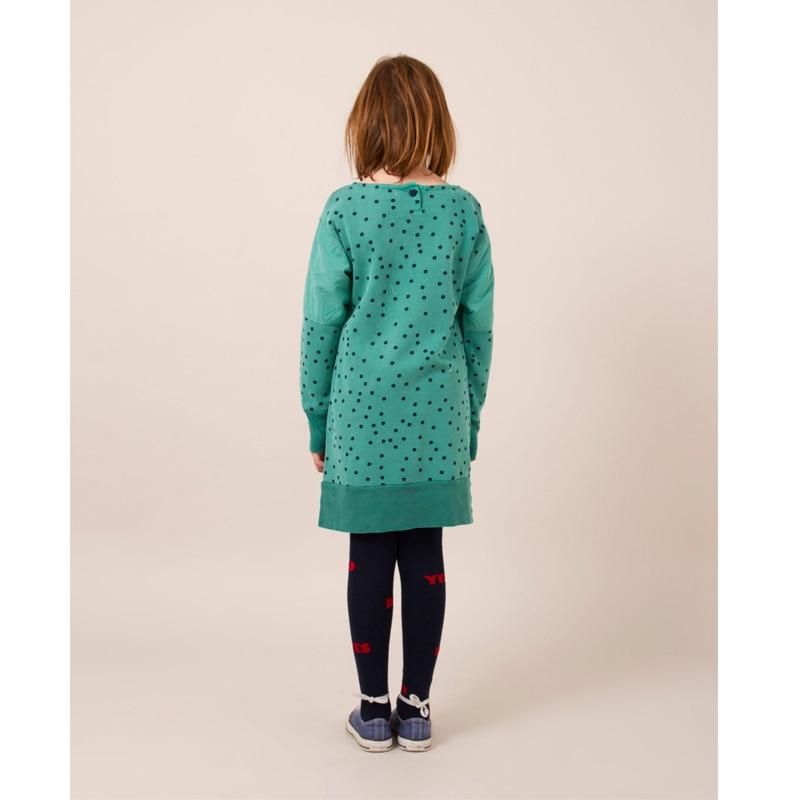 51bfbfb9d55b 2018 Autumn Winter Bobo Choses Baby Girl Bird Fleece Dress Children ...