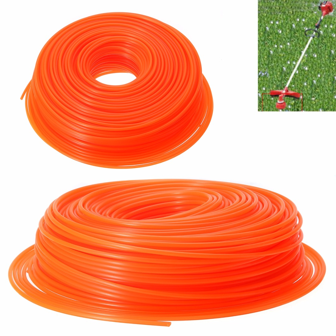 Mayitr Nylon Strimmer Cord Brush cutter Cord Line Long Round Roll Trimmer Lawn Mower Parts Spares Garden Tools кордщетка proline 32520 p