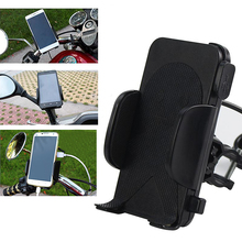 Wholesale motorcycle charging mobile phone bracket with charger scooter rearview mirror car USB navigation frame waterproof