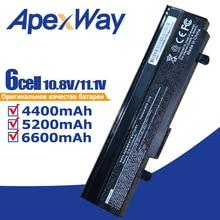 11.1V Đen Pin dành cho Laptop dành cho Asus Eee PC VX6 1011 1015 1015 P 1015PE 1016 1215N 1215B A31-1015 A32-1015 AL31-1015 PL32-1015