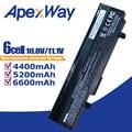 11.1V Noir batterie d'ordinateur portable pour asus Eee PC VX6 1011 1015 1015 P 1015PE 1016 1215N 1215B A31-1015 A32-1015 AL31-1015 PL32-1015
