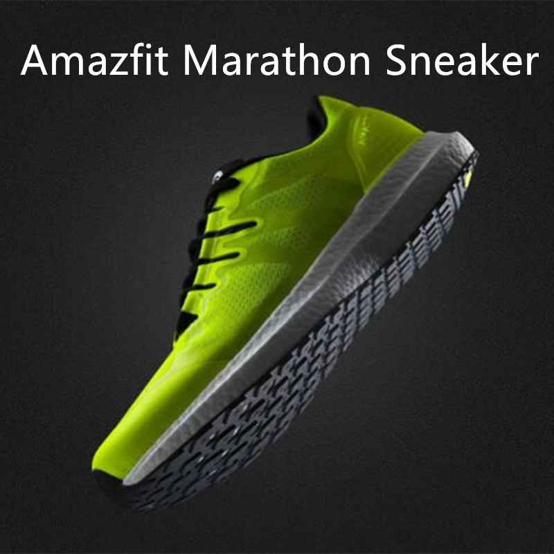 2018 New Xiaomi Amazfit Marathon Training Sports Running Shoes Sneaker Light Weighted Breathable Stable Support For