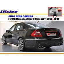 Liislee Автомобильная камера для Mercedes Benz E Class W211 2002~ 2008/камера заднего вида/HD CCD RCA NTST PAL/светильник номерного знака CAM